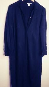 H & M black dress size 8